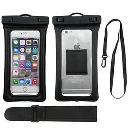 Yüzer Kılıfı TPU Kuru Çanta Telefon kılıfı Evrensel iPhone Samsung Cep Telefonu kadar 6.3 inç ile kol kemeri supplier arm floats nereden kolluk tedarikçiler