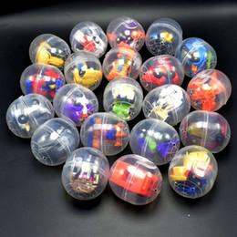 Яичная скорлупа онлайн-Twisted Egg Toys Capsule Ball Toys 47x55mm трансформер игрушечная машинка 2.5x5.5cm витая яичная скорлупа + игрушки Интеллектуальные игрушки GGA1679