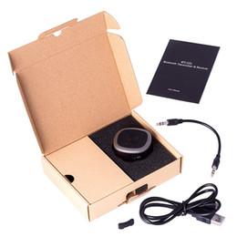 Hot Bluetooth 5.0 Empfänger und Sender 2 in 1 aptX CSR HD Dual Stream HD Audio mit geringer Latenz für TV-Heimstereosysteme von Fabrikanten