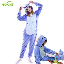 2019 tier-pyjamas für kinder Amily Christmas Pyjamas Stitch Pyjamas Onesie Kids Animal Onesies Für Erwachsene Pyjamas Für Frauen Winter Family Passende Outfits Y190523 günstig tier-pyjamas für kinder