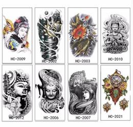 2019 diseño gráfico caliente Brazo Pierna 3D Carpa Gráfico Impermeable Tatuaje Temporal Body Art Stickers Extraíble venta caliente gran nuevo diseño de gran tamaño para los hombres diseño gráfico caliente baratos