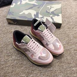 обувь на день Скидка Артефакт знакомств для мужской дизайнерской роскошной обуви Casual Shoes women Ночной клуб кроссовки усовершенствованный материал Коричневый золотой Черный белый w zhan190513