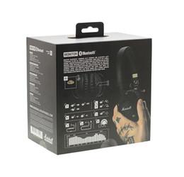 2019 monitor de auriculares inalámbrico Venta caliente Marshall Monitor Bluetooth inalámbrico HiFi Headsets audio casco en la oreja auriculares inalámbricos con caja al por menor rebajas monitor de auriculares inalámbrico