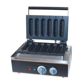 Canada Croustillant de maïs hot-dog gaufrier anti-adhésif français muffin saucisse machine UE US plug 110V 220V gaufrier fabricant oeuf Offre