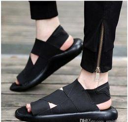 2019 y3 sandali 2016 Estate Y-3 Sandalo Qasa Nero Nuovo y3 Sandali KAOHE Per Uomo Donna Y3 Pantofola Vendita Calda di Alta Qualità y3 sandali economici
