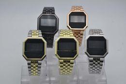 2019 relojes baratos TECHNOMARINE LED luz fría Europa y América que venden un reloj casual de cuarzo para damas y relojes de acero.