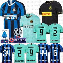 Milan jerseys inter online-9 Lukaku 7 ALEXIS Inter Skriniar Barella 2019 2020 Milan camisetas de fútbol maillot de pie Lautaro Godín D'Ambrosio