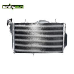 2019 ventiladores de arrefecimento Bikes BIKINGBOY 1 Set rua Alumínio Cores Motor Água de resfriamento Radiadores Radiador Para CBR 1100 XX Blackbird 1997-2005