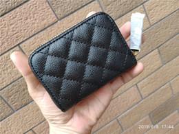 Bolsos organizados bolsos online-NUEVO PU Luxury Coin monedero con cremallera de moda organiza el paquete de la tarjeta del bolso de almacenamiento clásico para la dama de la moda