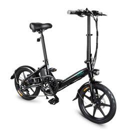 FIIDO D3S Portable Scooter Électrique 2 Roue Vélos Électriques Nouveau 16 Pouce 36V 7.5AH Vélo Électrique Pliant Siège De Vélo Freins Mécaniques ? partir de fabricateur
