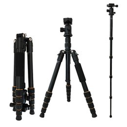 2019 handy ohne kamera Q666 Professionelle SLR / DSLR Kamera Stativ Kugelkopf Ständer Halter für Canon Nikon 2018NEW