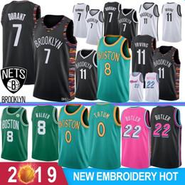 Rosa basquete on-line-NCAA 7 Kevin Durant Kyrie 11 Mens faculdade de Irving Jersey Kemba Walker 8 Basketball Jimmy 22 Butler Jayson 0 Tatum Derrick Rose 25 2019