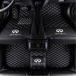 автомобиль g37 Скидка Подходит для Infiniti G37 JX35 Q50 Q60 Q70L QX30 QX50 QX56 QX60 QX70 QX80-Veloster Автомобильный коврик