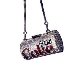 Bolsa de brillo online-XIAOYAN Nueva moda Venta caliente Diamante brillante Manual diseñado Cola Bolsa de fiesta Bolso de cruce