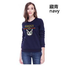 100% algodón 2019 moda nueva gran marca de verano mujer suéter de manga larga diseñador de lujo primavera y verano tendencia hip-hop camisa de mujer caliente desde fabricantes
