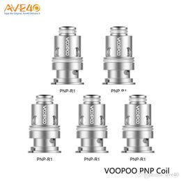 atomiseur de réservoir kanger t3s Promotion Voopoo d'origine PnP Mesh Bobines VM1 M1 C1 M2 R1 Pour Voopoo Drag bébé Voopoo Vinci