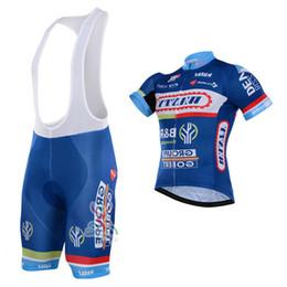 2019 vetement velo bleu femme Vente chaude Maillots De Cyclisme Bleu De Cyclisme Maillot À Manches Courtes Vélo Usure Bib Pantalon Taille Xs-4xl Vélo Vêtements Pour Hommes Femmes vetement velo bleu femme pas cher