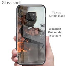 2019 iphone hüllen bilder Stellen Sie Bilder benutzerdefinierte iPhone / Samsung / Huawei Handy gehärtetem Glas Shell iPhone 6/7/8 / X / XS Max / XR / 6s plus Handyhülle günstig iphone hüllen bilder