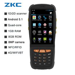 2019 android-tastatur wifi ZKC PDA3503 Touchscreen android Barcode-Scanner 1d 2d tragbares Datenkollektor-Endgerät mit Tastatur WIFI 4G BT Kamera rabatt android-tastatur wifi