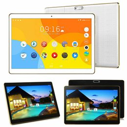 tablette chinoise 64gb Promotion 10.1 '' Tablette PC 4 + 64Go Android 6.0 Octa Core 3G Dual SIM Caméra WIFI Phablet