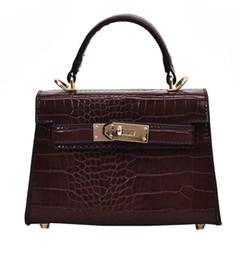 Borsa per iphone mini online-serpentina PU le borse della donna borse a tracolla di pelle ragazza borse fionda commerciali MINI sacchetto iphone moda crossbody confezioni SH190920