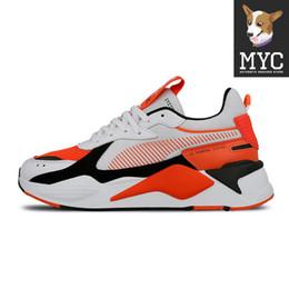 Ballet pour femme en Ligne-Transformers RS-X Chaussures de course Casual Trainer Womens Sport Chaussures Quatre couleurs Orange Créateur de Mode Hommes Baskets Taille 36-45