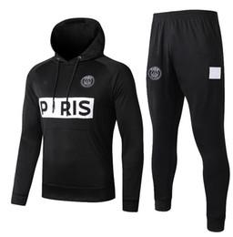 x hoodies homens Desconto 2019 PSG homens e crianças Paris hoodie jaqueta de futebol 18 19 20 psg agasalho jaqueta de futebol MBAPPE Survêtement Jordam X psg hoodie