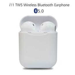 Canada Date i11 tws Sans Fil Écouteurs 5.0 Bluetooth Casque Air Oreille Mini Écouteurs Casque Pour iPhone X iPad Apple Watch Samsung pods Offre