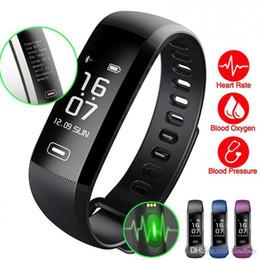 Canada M2Pro Bracelet Intelligent Fitness Tracker Bracelets Fréquence Cardiaque Montre De Pression Artérielle Pulse Mètre Oxygène Étanche SMS Appeler SportBand cheap pulse oxygen meter Offre