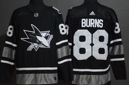 2019 All-Star San Jose Sharks Camisetas de hockey # 88 Brent Burns Stitched Jersey desde fabricantes