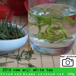 chá emagrecimento china Desconto Premium! [Muchi] 100g China Orgânica Chá Branco Super Anji baicha agulha Tea para Cuidados de Saúde Beleza e Magro