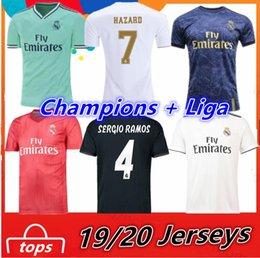 DANGER 2019 2020 Real Madrid Maillots de football RAMOS BENZEMA VINICIUS JOVIC MILITAO Camisa de Futebol 18 19 20 Maillots de foot Maillot ? partir de fabricateur