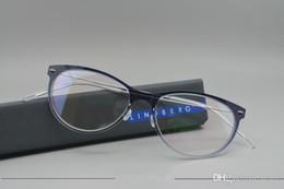 lunettes lindberg Promotion Marque Designer- Lindberg 6520 monture de lunettes lunettes vintage unisexe hommes femmes marque montures de lunettes livraison gratuite