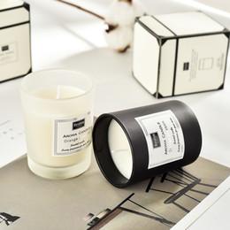 candela elettronica principale di plastica Sconti migliori candele di cera regalo sapore profumato di soia con olio essenziale di matrimonio decorazione della casa regalo di compleanno romantico fatturato