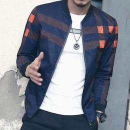 chaqueta de paño de invierno para hombre Rebajas 2019 Nueva Marca de Moda Chaqueta Hombres Otoño Invierno Slim Fit Mens Designer Clothes Red Men Casual Chaqueta Slim Plus Tamaño M-5XL