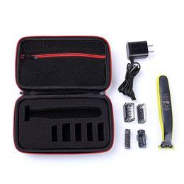 Bolsas Funda protectora portátil para Philips OneBlade Philips QP2520 / 90/70 Afeitadora Trimmer EVA Bolsa de viaje Bolsa de almacenamiento Funda con cremallera desde fabricantes