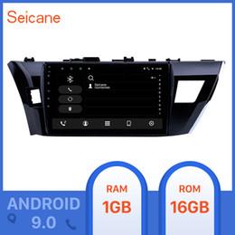 2019 android honda crv Seicane 10,1 polegadas HD Touchscreen Android 9.0 Car Radio GPS Para 2013 2014 2015 Suporte Corolla Steering Wheel Control dvd carro