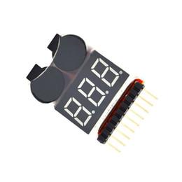 2 en 1 Li-ion RC Batterie Lipo Alarme Basse Tension 1-8S Sonnerie Indicateur Vérificateur Testeur LED Module Carte ? partir de fabricateur