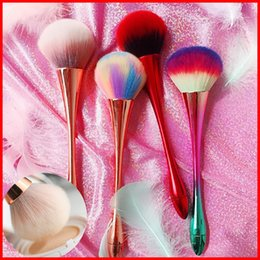 2019 grünes make-up Make-up Pinsel für Foundation-Pinsel Gesicht Schatten Bürsten bilden Pinsel-Set für Lidschatten brocha de maquillaje auch konfrontiert Pinsel