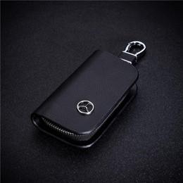 Vito online-Pu leder autoschlüssel case abdeckung schlüsselhalter brieftasche für mercedes benz vito brabus maybach c klasse autoschlüssel kettenabdeckung