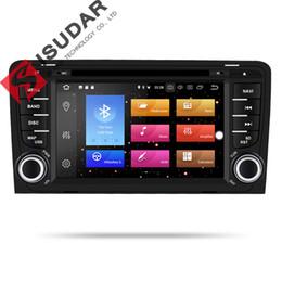 Lecteur multimédia de voiture Isudar 2 din radio GPS Android 9 pour A3 / S3 / Audi 2002-2013 Octa Core RAM 4G ROM 32G caméra DSP USB DVR ? partir de fabricateur