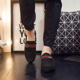 2020 männer pedal schuhe 2019 neue Sommer Männer und Frauen arbeiten beiläufige flache Schuhe der Männer um, die einzelne Schuhe ein Pedal-faule Schuhe nähen günstig männer pedal schuhe