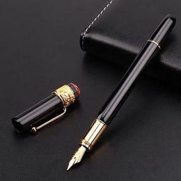 прекрасная клипса Скидка роскошные 1912 черно - бело-красный металлический паук клип авторучка / ролик шариковая ручка тонкой канцелярские мода каллиграфия чернила ручки