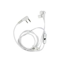 Venta al por mayor Auriculares con doble tapón para los oídos Auriculares para Baofeng Walkie Talkie BF-888S BF-666S UV-5R BF-H8 Accesorios de radio de dos vías La mejor calidad desde fabricantes