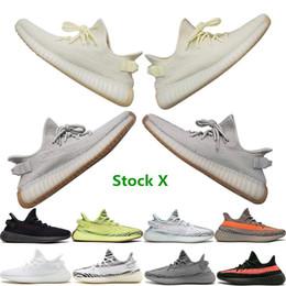 Zapatos color eva online-Las mejores zapatillas de deporte de calidad para hombre con Stock X Todos los colores Mantequilla estática Sésamo Hielo Amarillo Azul Tinte Diseñador Zapatos