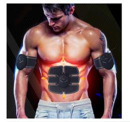 masajeador estimulador Rebajas Dropshipping Dispositivo de Estimulación Muscular Abdominal Inalámbrico EMS Cinturón Gimnasio Professinal Cuerpo Adelgazante Masajeador Hogar Fitness Belleza Gear