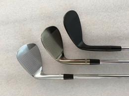 Совершенно новые клюшки для гольфа S7 Wedge S7 Golf Wedges 48/50/52/54/56/58/60/62 Стальной вал с головкой от Поставщики новые крышки для гольфа