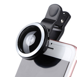 super wide angle fisheye lens Coupons - 235 degree Super Fisheye Lens Mobile Phone Camera Lenses For iPhone 7 7P 8 iPad Huawei Lens HD Wide Angle Clip-on Fish Eye