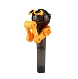 I più recenti giocattoli di personalità creativa Lollipop Holder Decompression Toys Lollipop Robot decompressione caramelle giocattolo antipolvere regalo da buon giocattoli economici fornitori
