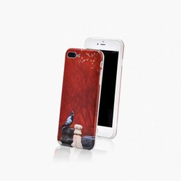 Argentina Estilo chino, rojo y blanco, estilo de corte de concha de teléfono móvil que vende pequeño lindo, fácil de llevar Suministro